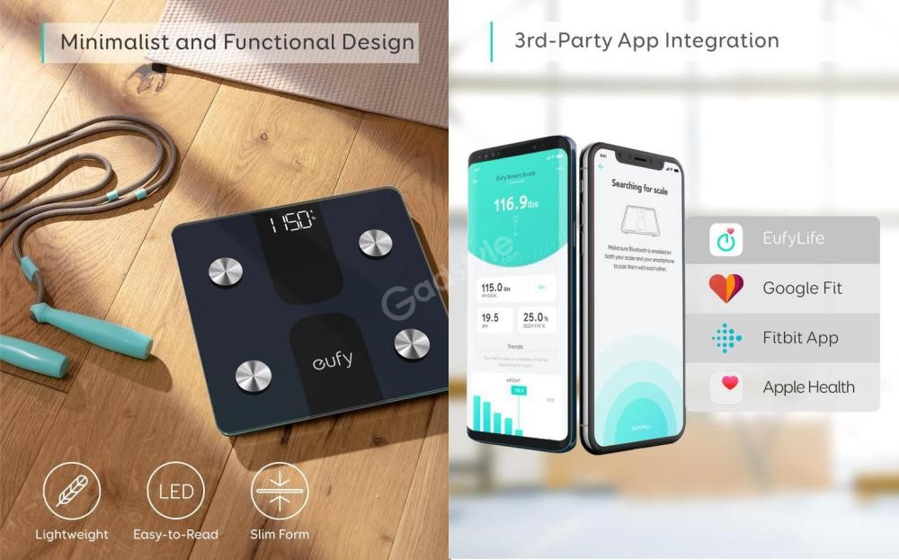 Eufy Smart Scale C1 With Bluetooth Body Fat Scale (2)