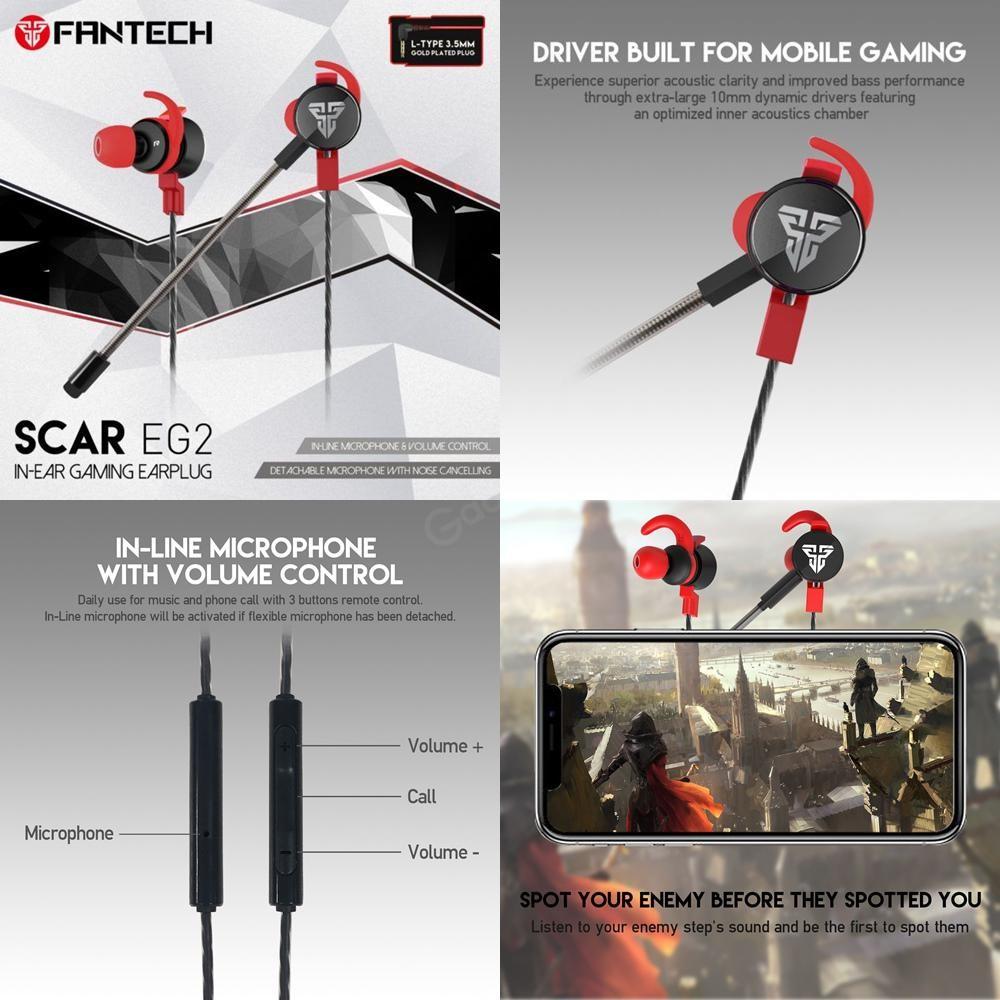 Fantech Eg2 Scar 3 5mm Single Dual Port Gaming Earphone (2)