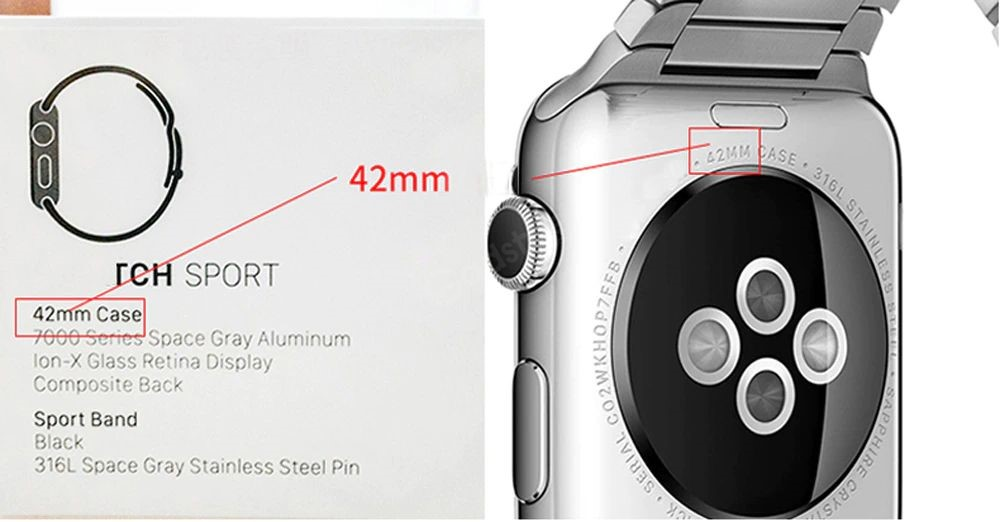 Genuine Leather With Silicone Strap Band For Apple Watch 42 44mm (7)