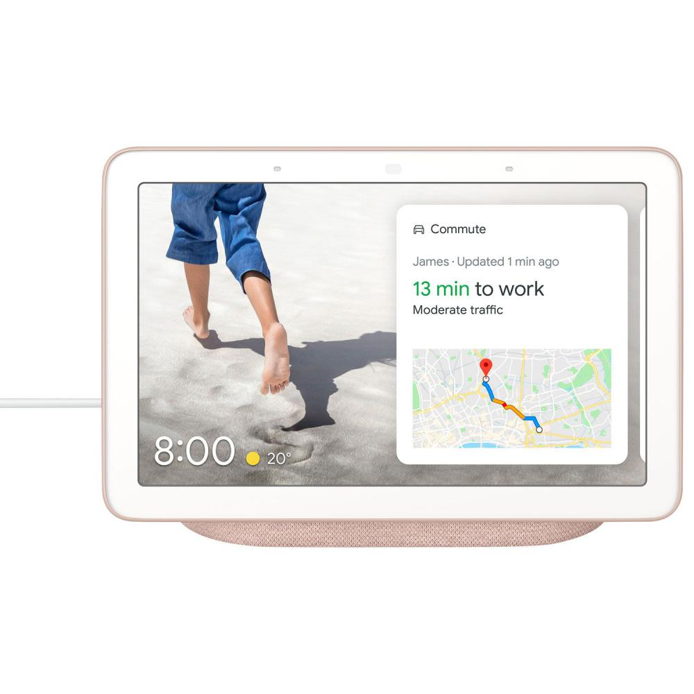 Google Nest Hub Smart Display With Google Assistant Sand (1)