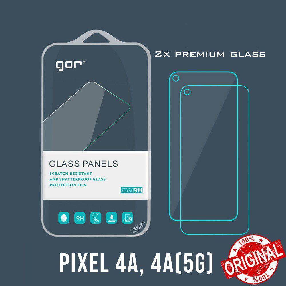 Gor 9h Tempered Premium Glass Screen Protector For Google Pixel 4a 2pcs (1)