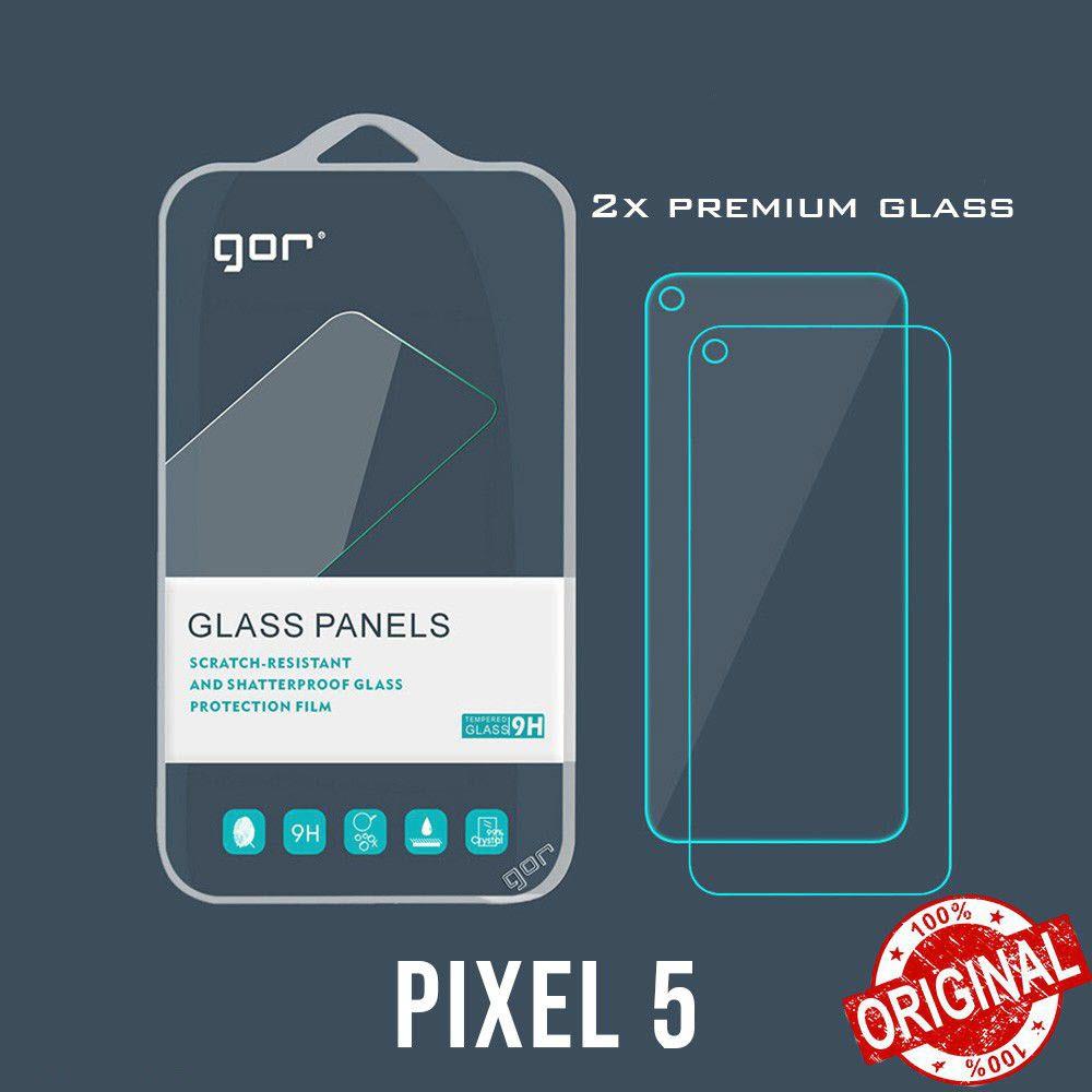 Gor Premium 9h Tempered Glass Screen Protector For Google Pixel 5 2pcs (1)