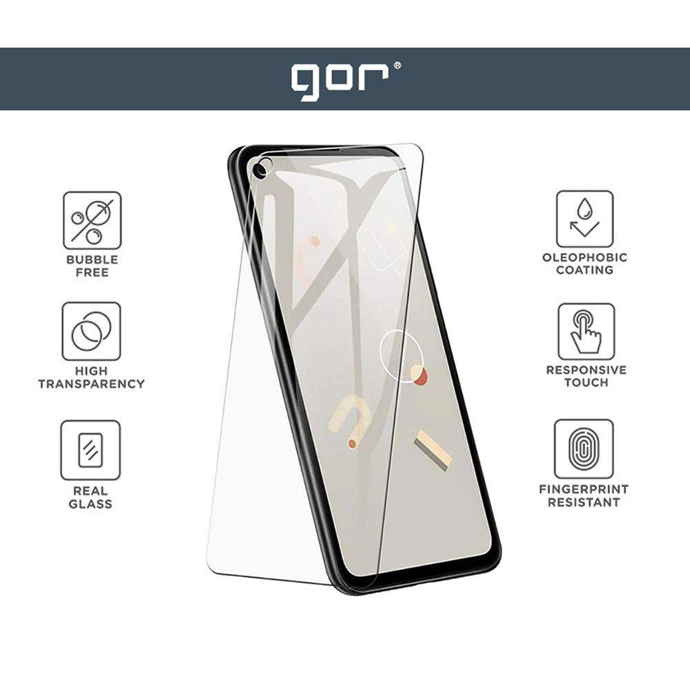 Gor Premium 9h Tempered Glass Screen Protector For Google Pixel 5 2pcs (4)