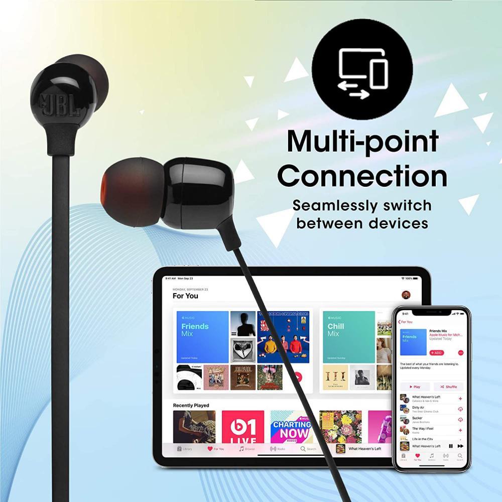 Jbl Tune 125bt Wireless Bluetooth Headphones (4)