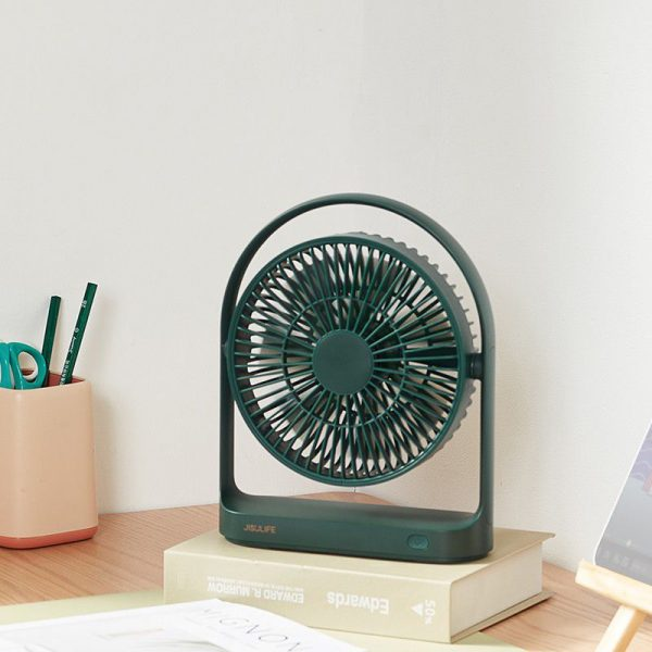 Jisulife Fa19 Usb Portable Rechargeable Fan 4000mah Battery With Type C Charging Port (
