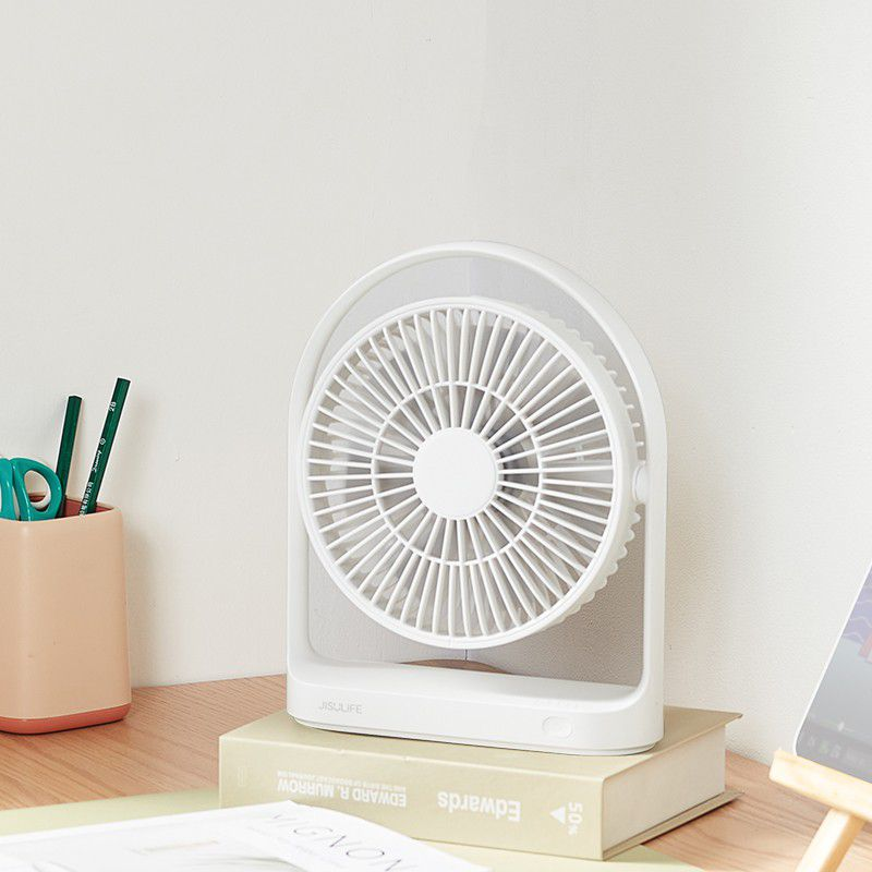 Jisulife Fa19 Usb Portable Rechargeable Fan 4000mah Battery With Type C Charging Port (1)