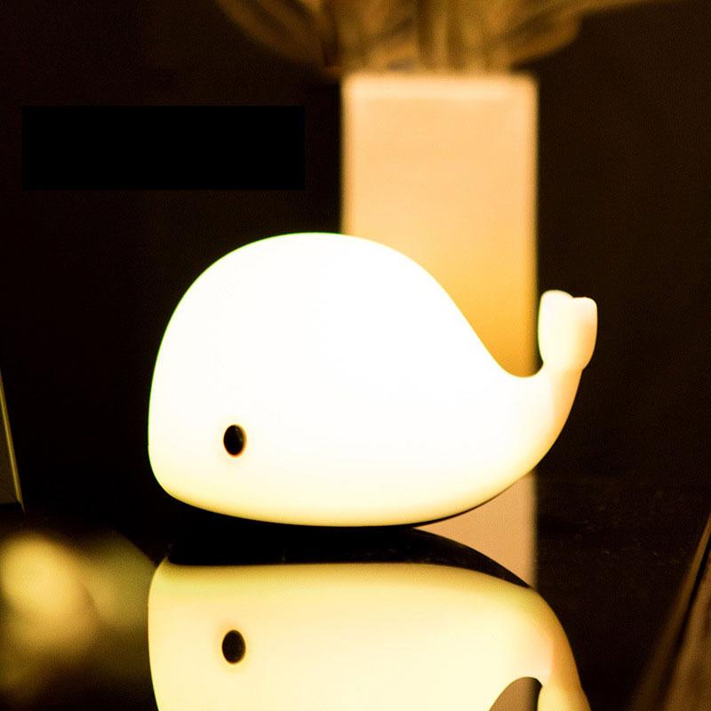 Jisulife L2 Touch Sensor Usb Dolphin Clap Night Light (1)