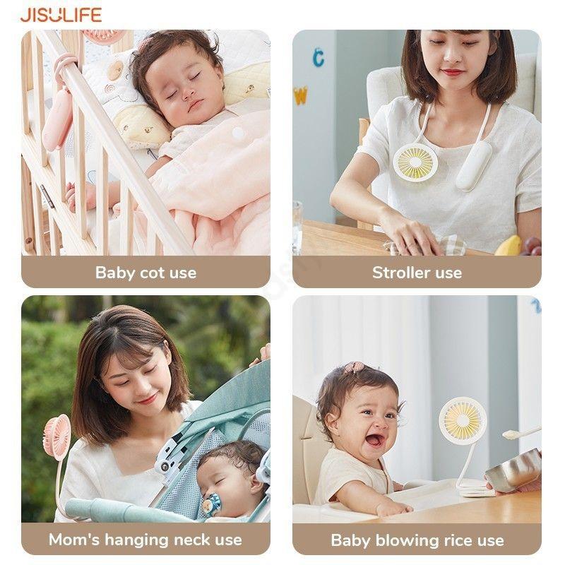 Jisulife Multi Purpose Fan Fa15 Handheld Fan Desktop Fan (9)