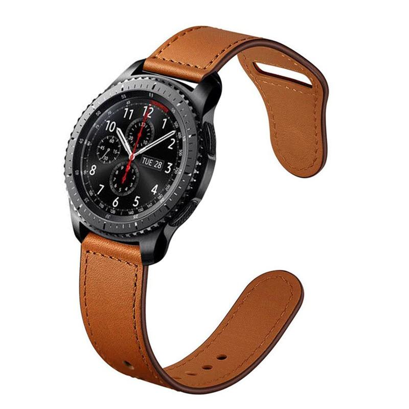 Leather Sport Bracelet Straps For 20mm 22mm Size (1)