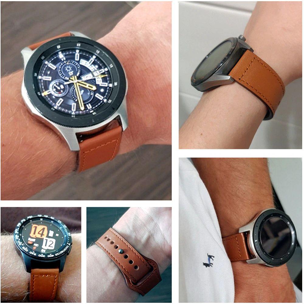 Leather Sport Bracelet Straps For 20mm 22mm Size (2)
