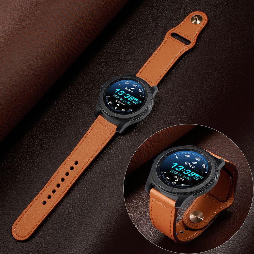 Leather Sport Bracelet Straps For 20mm 22mm Size (5)