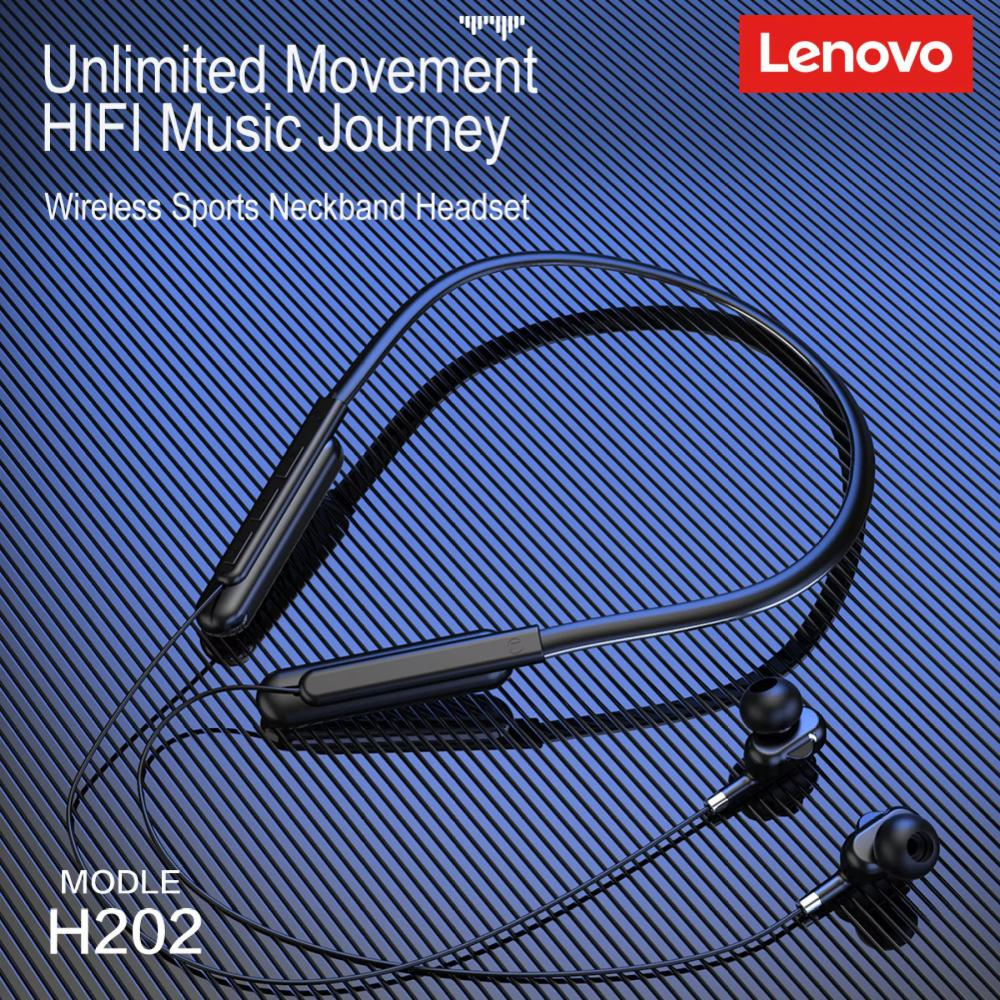 Lenovo H202 Wireless Bluetooth V5 0 Earphone (1)