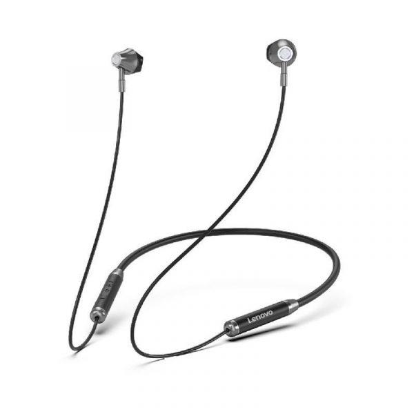 Lenovo He06 Wireless Neckband Headphones With Mic (1)