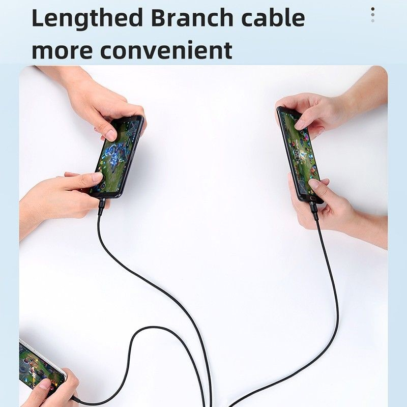 Mcdodo 3in1 Superfast 5a Braided Charging Cable (7)