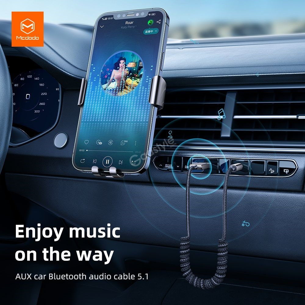 Mcdodo Ca 870 Usb A To Dc3 5mm Bluetooth Audio Cable (6)