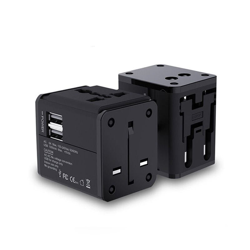 Mcdodo Universal Travel Charger With Dual Usb Ports (2)