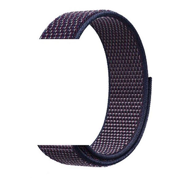 Naylon Braided Loop Watch Strap For 42 44mm (5)