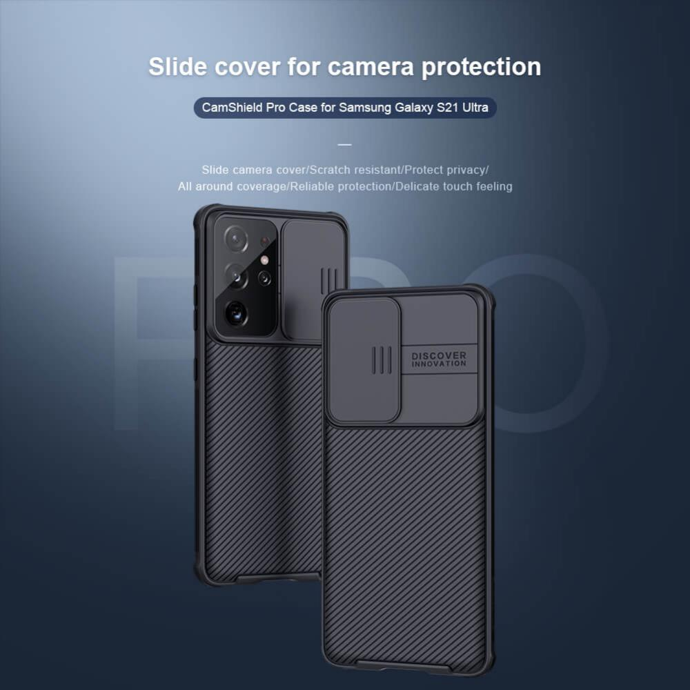 Nillkin Camshield Pro Cover Case For Samsung Galaxy S21 Ultra 5g (7)