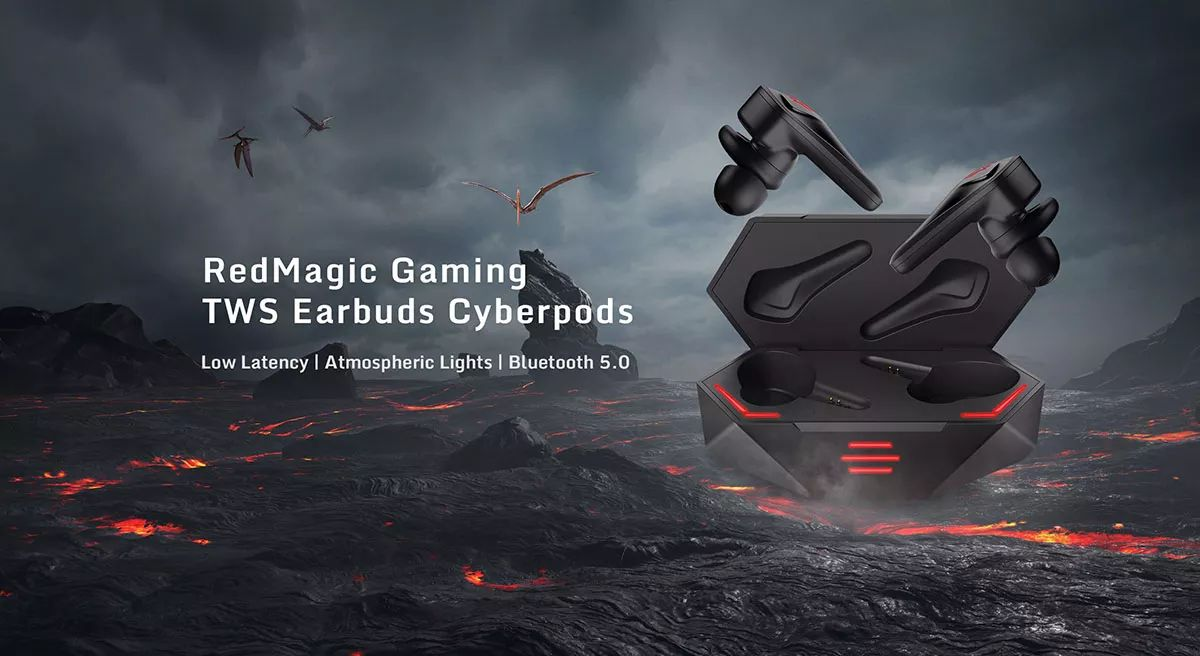 Nubia Red Magic Cyberpods Tws Gaming Earbuds (2)