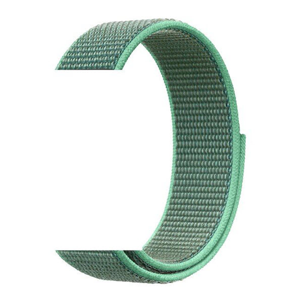 Nylon Braided Loop Watch Strap For 20 22mm (5)