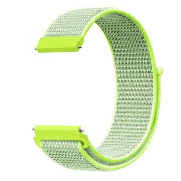 Nylon Braided Loop Watch Strap For 20 22mm (7)