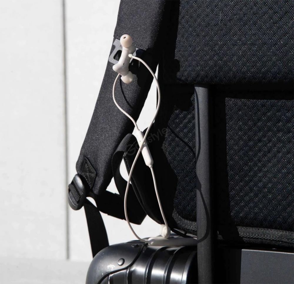 Oneplus Urban Traveler Backpack Charcoal Black (6)