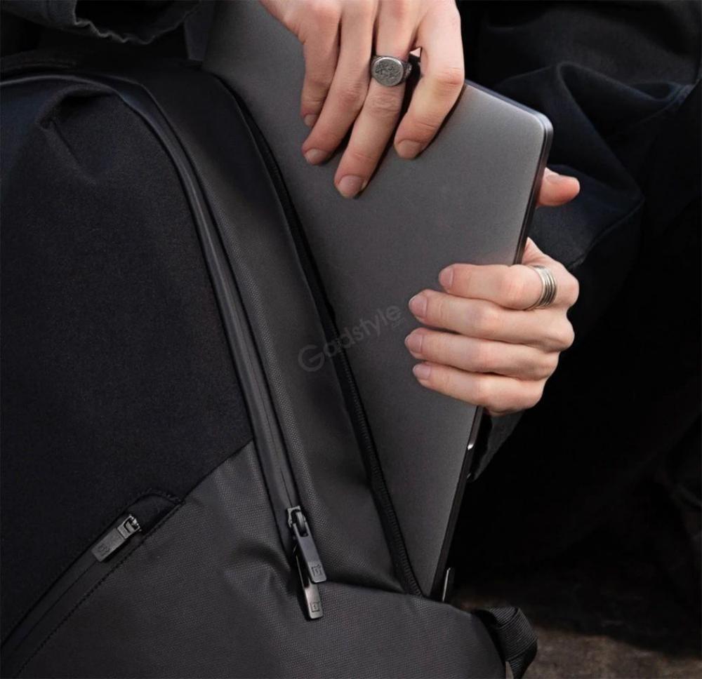 Oneplus Urban Traveler Backpack Charcoal Black (9)