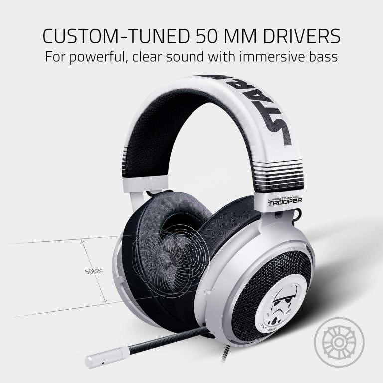 Razer Kraken Stormtrooper Edition Multi Platform Wired Gaming Headset (2)