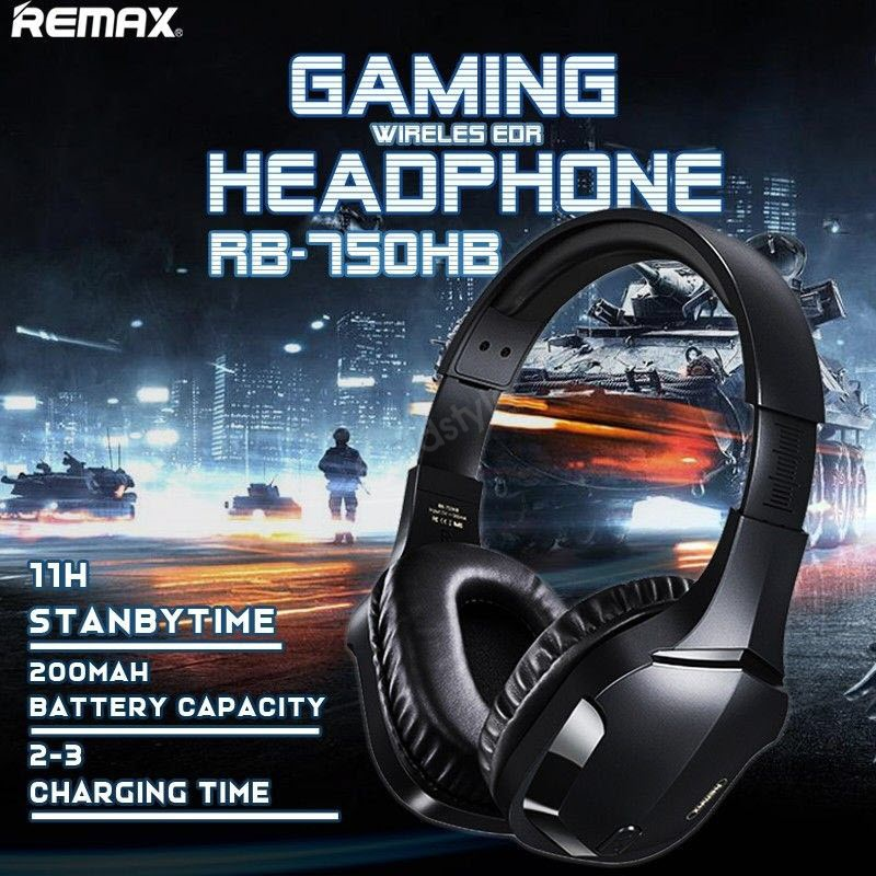 Remax Rb 750hb Wireless Gaming Headphone (3)