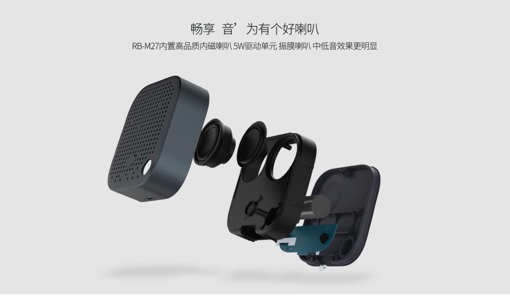 Remax Rb M27 Portable Bluetooth Speaker (2)