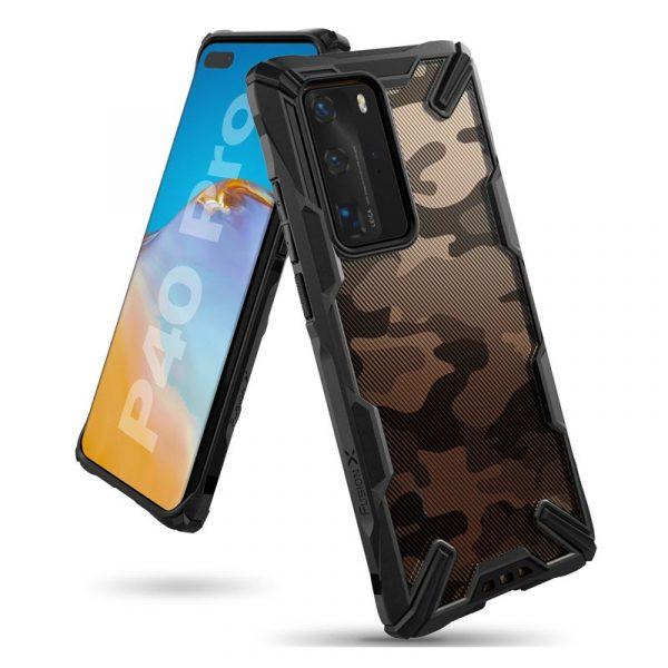 Ringke Fusion X Camo Case For Huawei P40 Pro (5)
