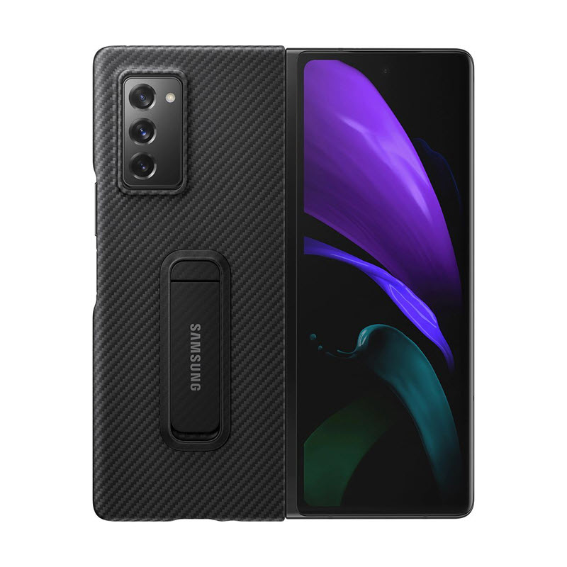 Samsung Aramid Standing Cover For Galaxy Z Fold2 5g (1)