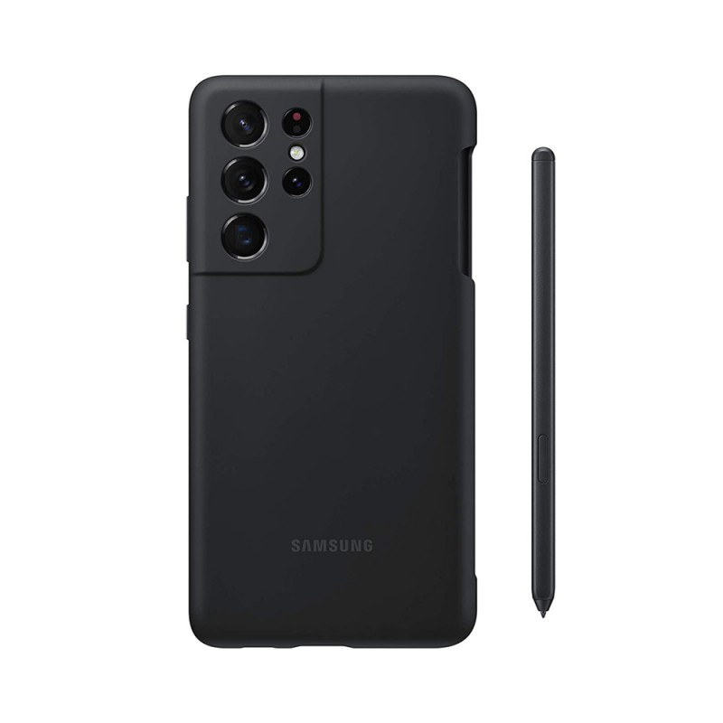 Samsung Galaxy S21 Ultra Silicone Cover With S Pen