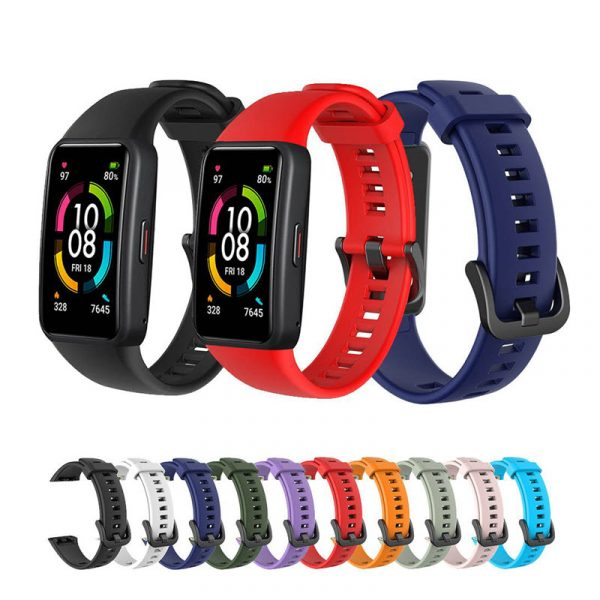 Silicone Straps For Huawei Honor Band 6 (1)