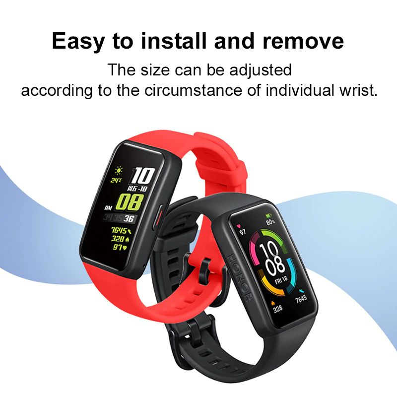 Silicone Straps For Huawei Honor Band 6 (3)