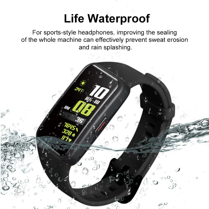 Silicone Straps For Huawei Honor Band 6 (4)