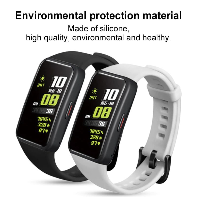 Silicone Straps For Huawei Honor Band 6 (6)
