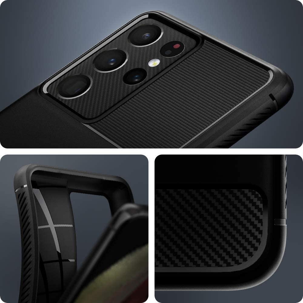 Spigen Rugged Armor Case For Galaxy S21 Ultra 5g (3)