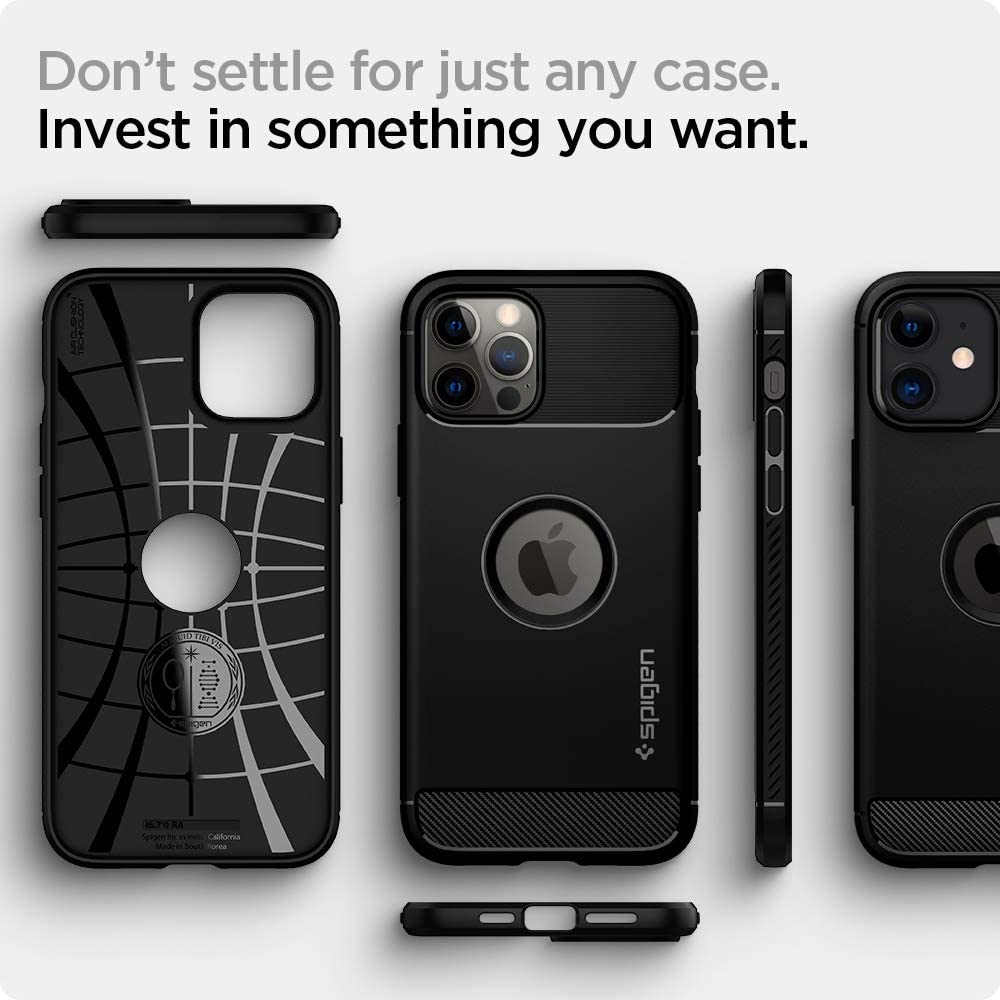 Spigen Rugged Armor Case For Iphone 12 Iphone 12 Pro (2)