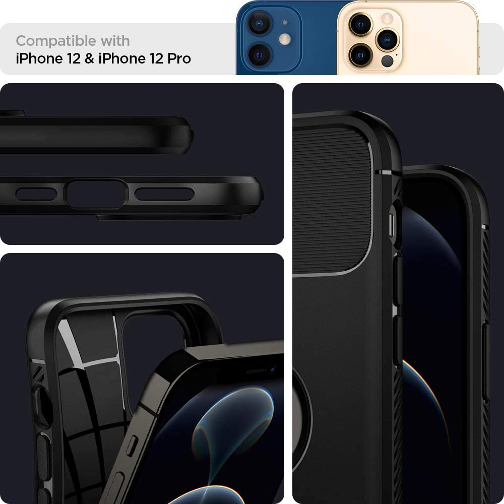 Spigen Rugged Armor Case For Iphone 12 Iphone 12 Pro (5)