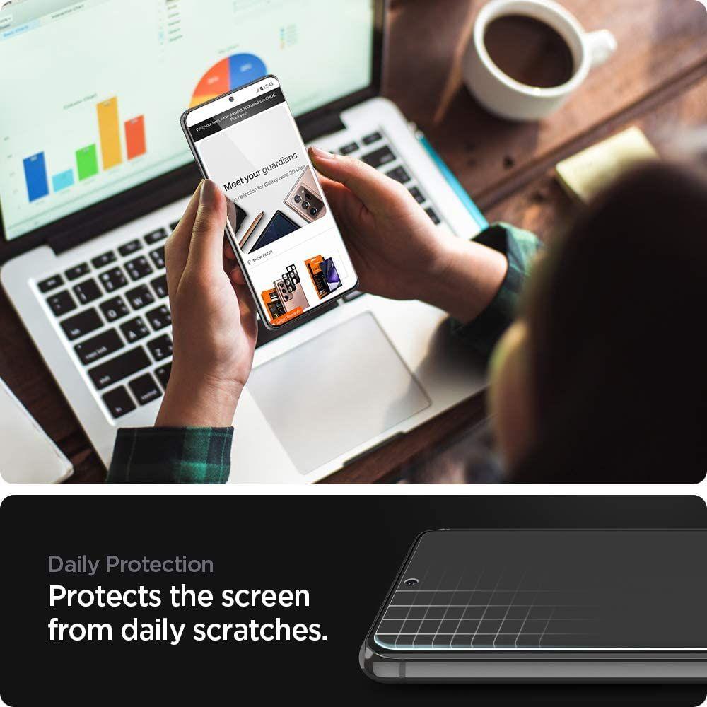 Spigen Screen Protector Neo Flex For Galaxy S21 5g (1)