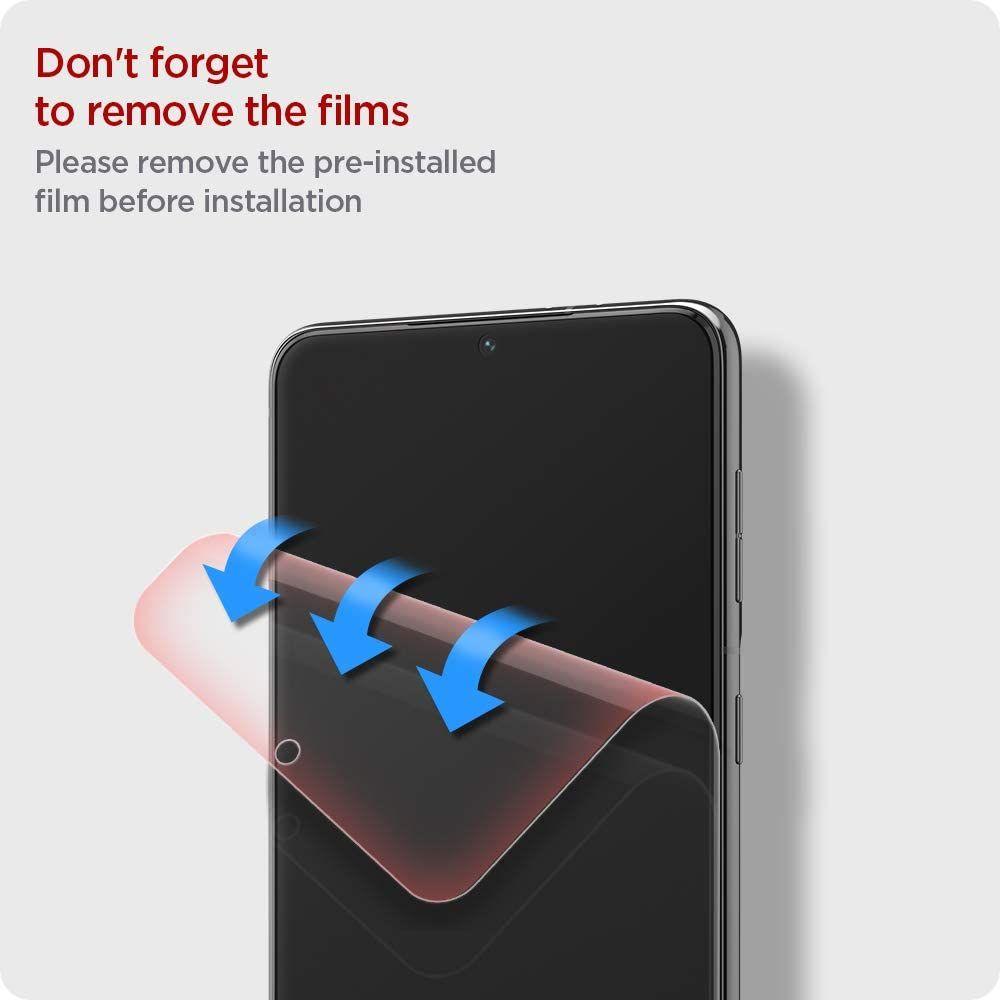 Spigen Screen Protector Neo Flex For Galaxy S21 Plus (1)