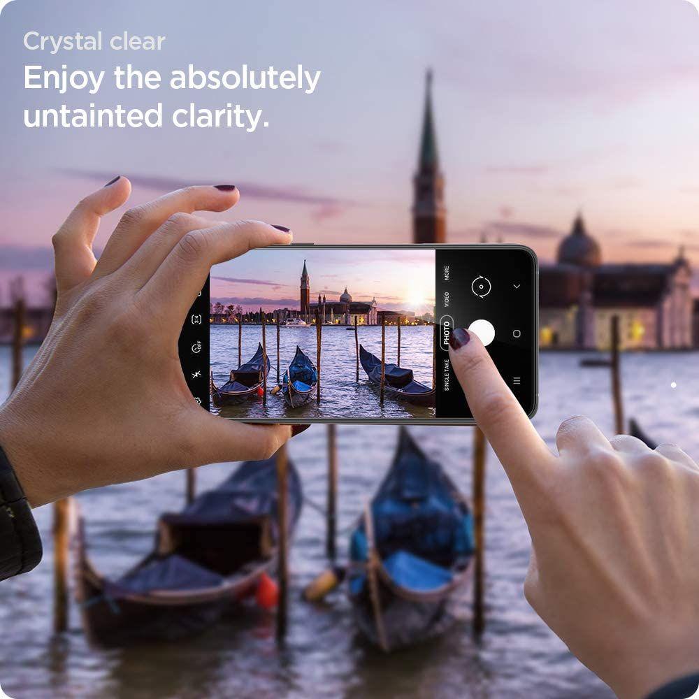 Spigen Screen Protector Neo Flex For Galaxy S21 Plus (5)