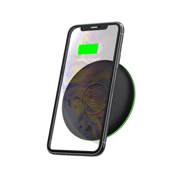 Wiwu M4 10w Universal Qi Standard Round Smart Wireless Charger (2)