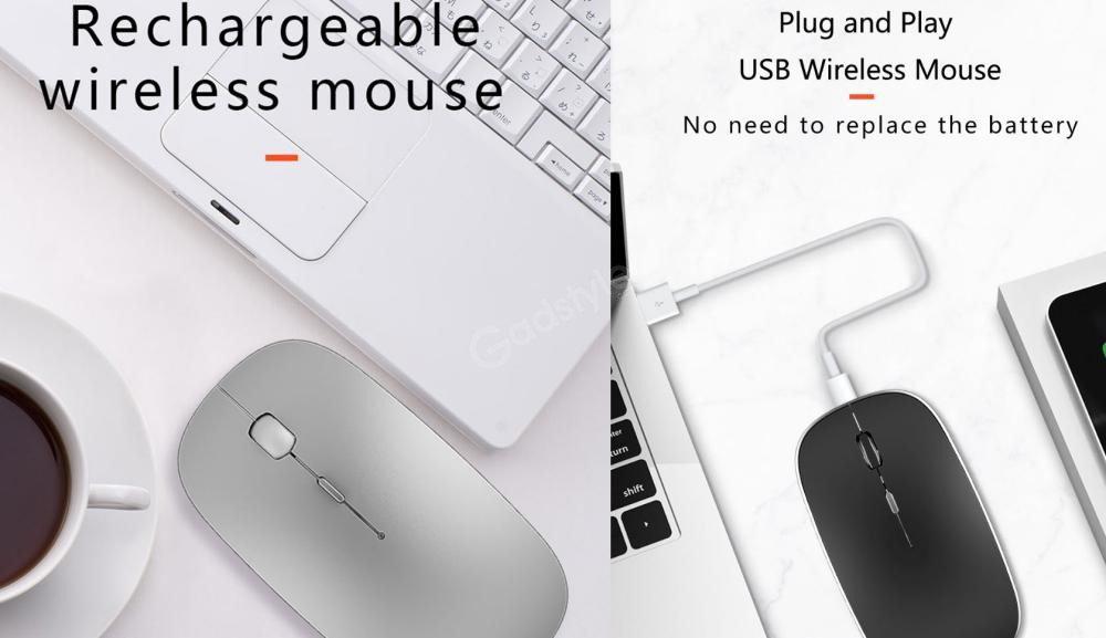 Wiwu Wimice Lite 2 4g Rechargeable Wireless Bluetooth Mouse (1)