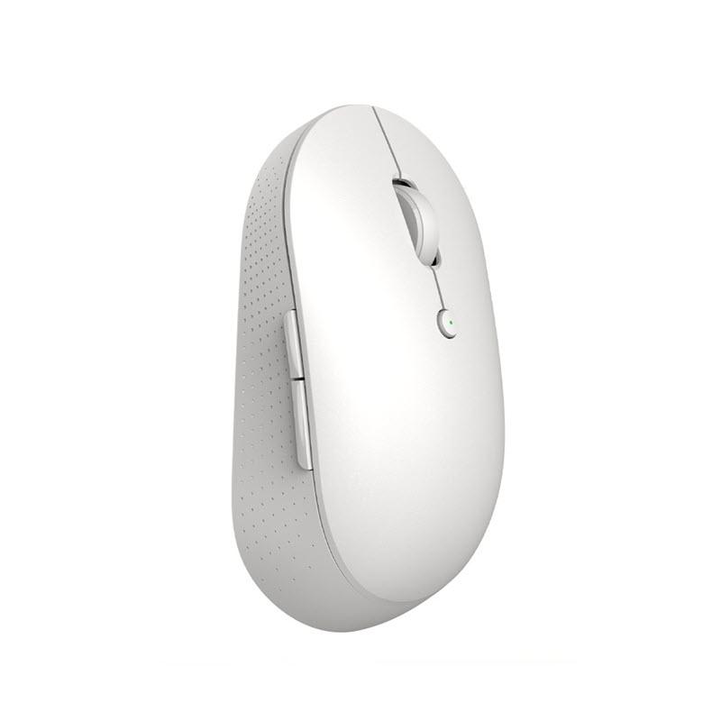 Xiaomi Mi Dual Mode Wireless Mouse Silent Edition Bluetooth 2 4 Ghz White