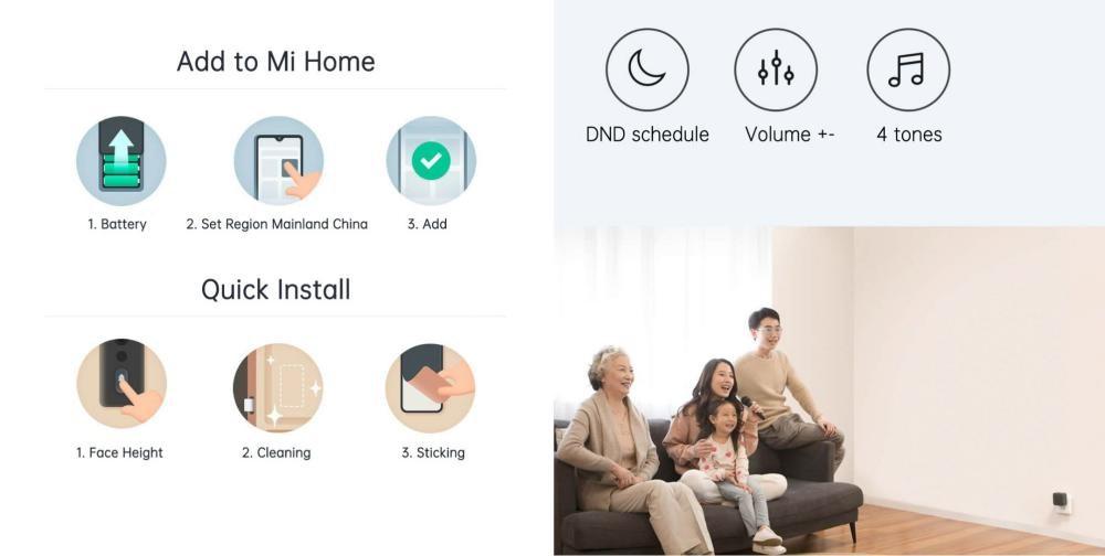 Xiaomi Mi Smart Video Door Bell 2 (2)