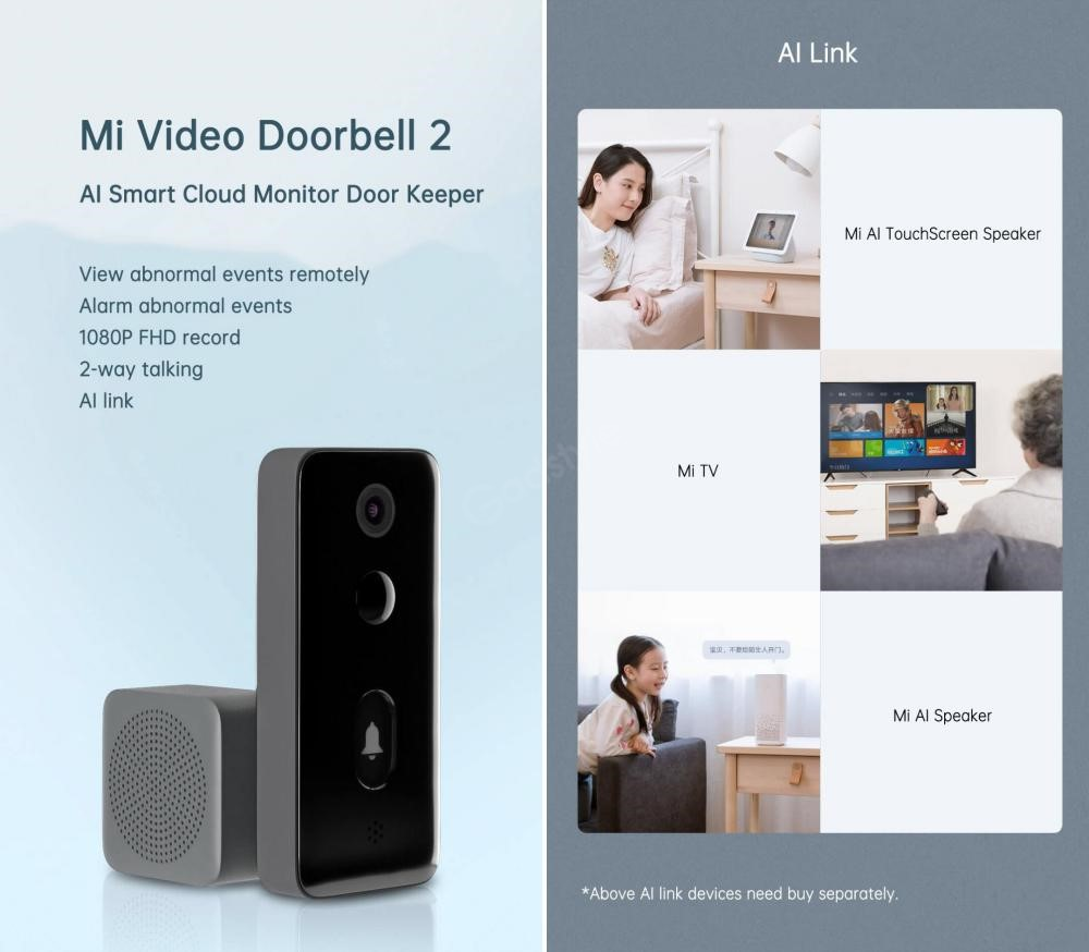 Xiaomi Mi Smart Video Door Bell 2 (5)