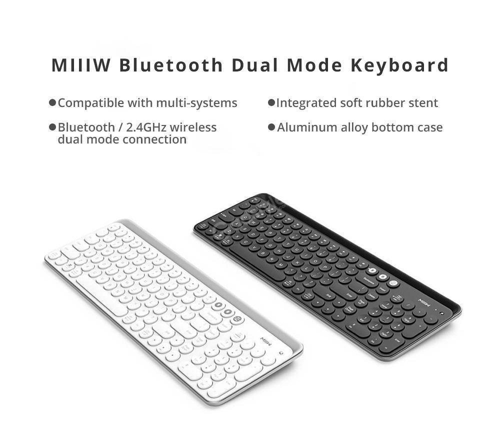 Xiaomi Miiiw Mini Bluetooth Dual Mode Keyboard 85 Keys (1)