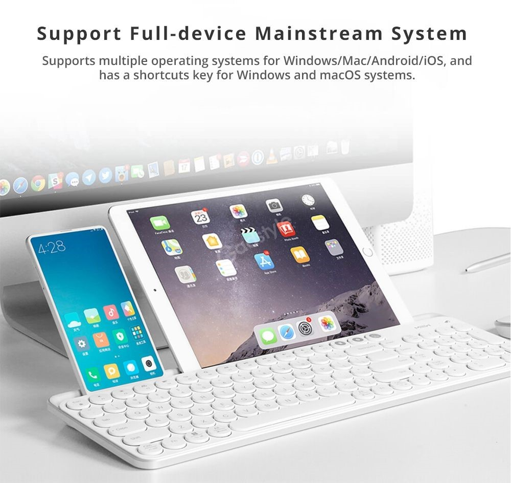Xiaomi Miiiw Mini Bluetooth Dual Mode Keyboard 85 Keys (3)